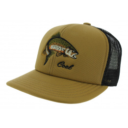 Casquette Trucker The Wilds Coton Marron & Noir - Coal