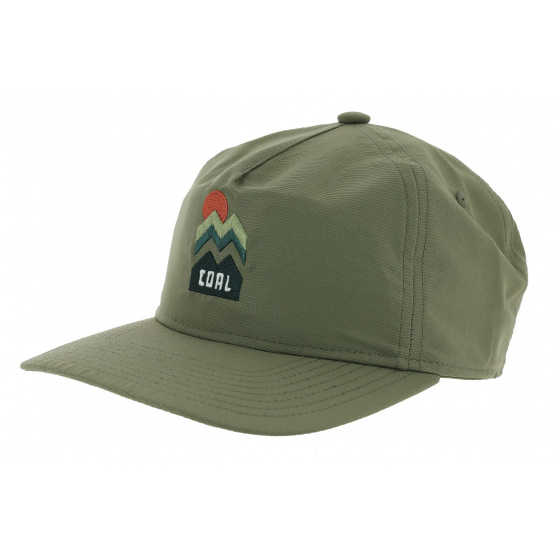 Snapback Cap The Donner Olive - Coal