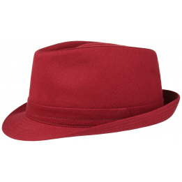Chapeau Tissu Teton Rouge stetson