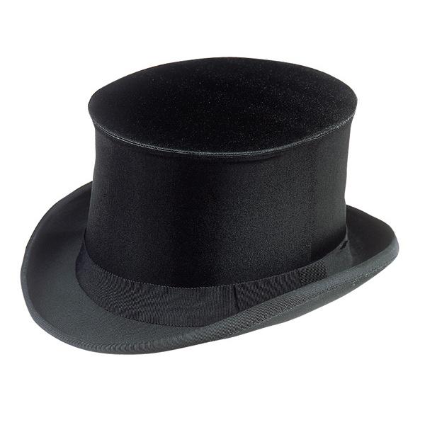 0e2692f18531 chapeau claque en soie synthétique