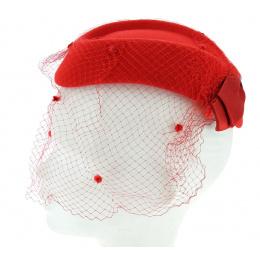 Hat E.WERLE PARIS red