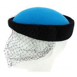 Tambourine blue turquoise / black