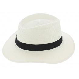 Barahona Toyo Traveller Hat White - Fléchet
