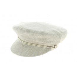 Summer sailor cap - linen