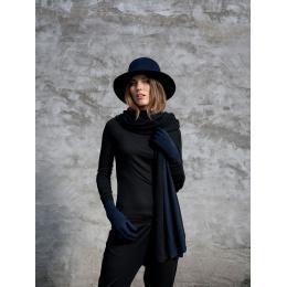 Formable Hat Golden Fleece Wool Felt Black - Traclet