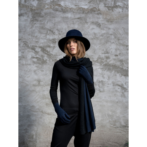 Chapeau Formable Golden Fleece Feutre Laine Noir - Traclet