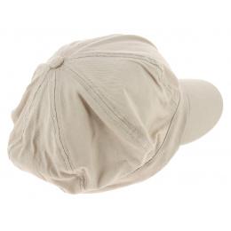 Gavroche Beige Cotton Cap - Traclet