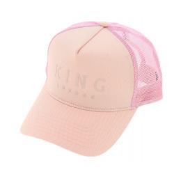 Casquette Trucker Blush Rose - King Apparel