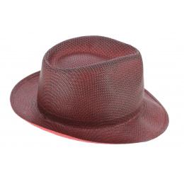 Chapeau Fedora Lisca Rouge Papier - Tesi