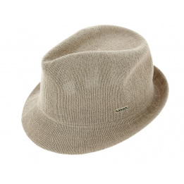 Trilby Bamboo Hat Arnold Beige - Kangol