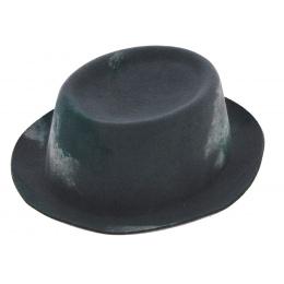 Wool Grey Mowbray Pork Pie Pencil Hat - Kangol