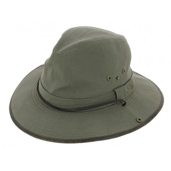 Chapeau Traveller Pensville Vert Coton - Stetson
