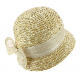 Natural Master Straw Bell Hat