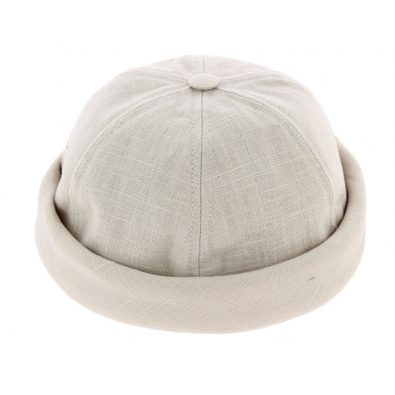 Bonnet miki breton beige