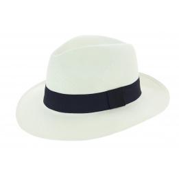 Chapeau Traveller Cristalino Panama Blanc - Traclet