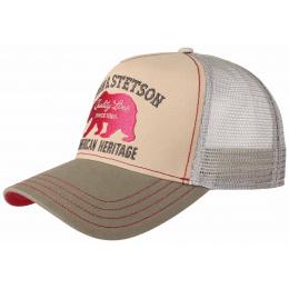 Snapback Shafter Coton Beige - Stetson