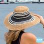 Capeline Lindemans Bicolore Fibres Naturelles - Rigon Headwear