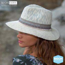 Chapeau Traveller Claudia Ivoire - Rigon Headwear