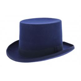 Chapeau haut de forme - Bleu