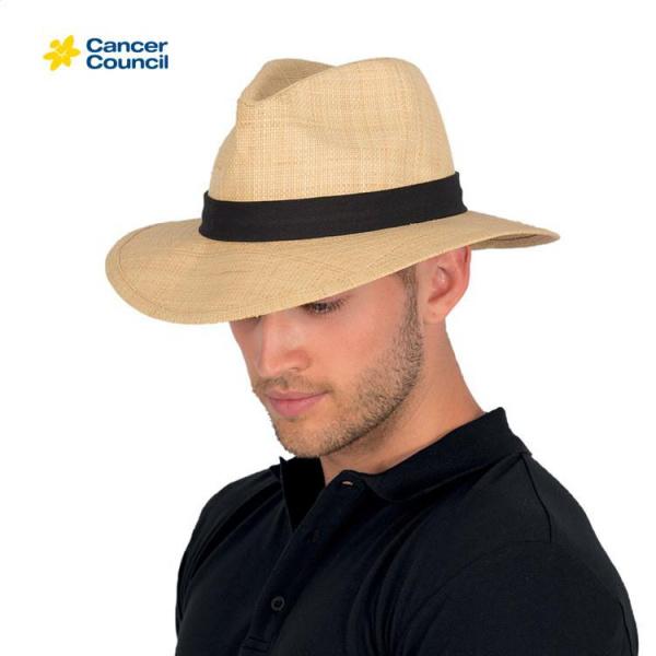 Chapeau Traveller Strax Paille Naturel - Rigon Headwear