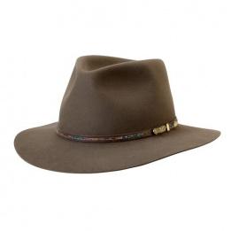 Chapeau feutre poil Leisure Time - Akubra