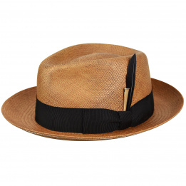 Chapeau Tessier Panama Fedora - Bailey