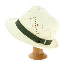 Chapeau TRILBY (ruban vert)