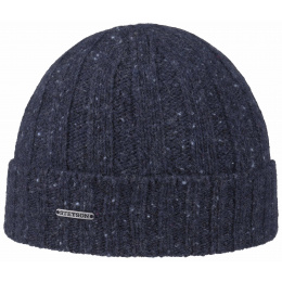 Bonnet Palesto Wool Marine - STETSON