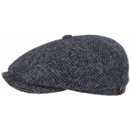 Casquette hatteras chevron Bleu - Stetson