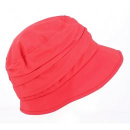 Chapeau Bob Edda de pluie rouge - Gore Tex
