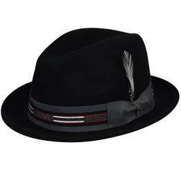 Chapeau trilby Marr Noir - Bailey