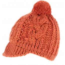 Bonnet casquette  Cublize Orange