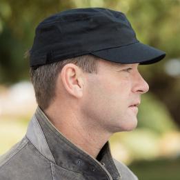 Casquette Army Coton  Noir- Result Headwear