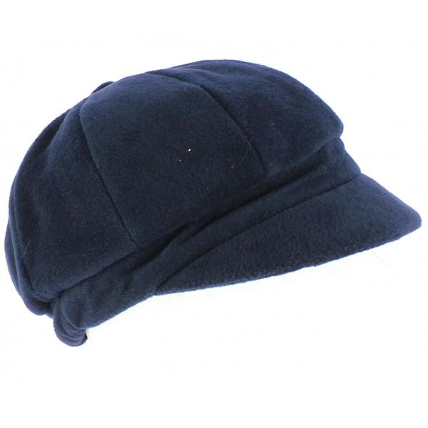 Abby navy polar gavroche cap - TRACLET