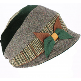 Casquette Gavroche Mirna Style Patchwork - Traclet