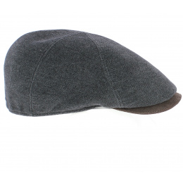Casquette Plate Ongi Laine Grise - Traclet