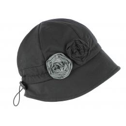Chapeau Cloche de Pluie Erika Noir - Traclet