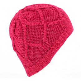 Bonnet Marvin Tricoté Rouge - Traclet