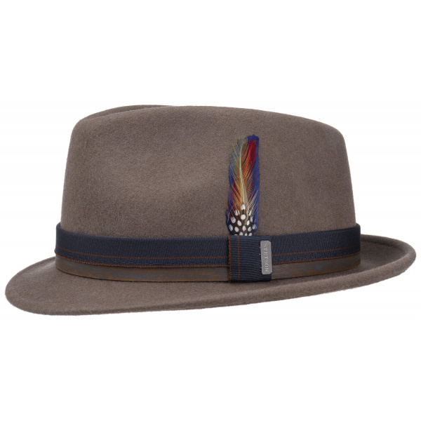 Chapeau Trilby Decato Taupe- Stetson
