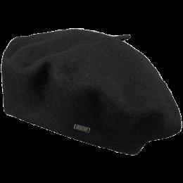 Sambre Black Wool Beret - Barts