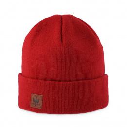 Bonnet à Revers Dulce Rouge - Pipolaki