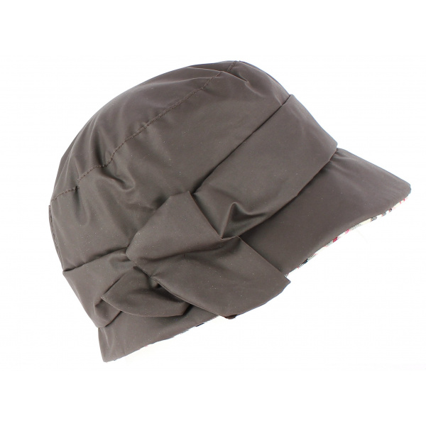 Chapeau Cloche Iverness imperméable  Marron - Crambes
