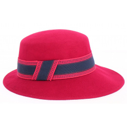 Chapeau feutre - Gemma rouge