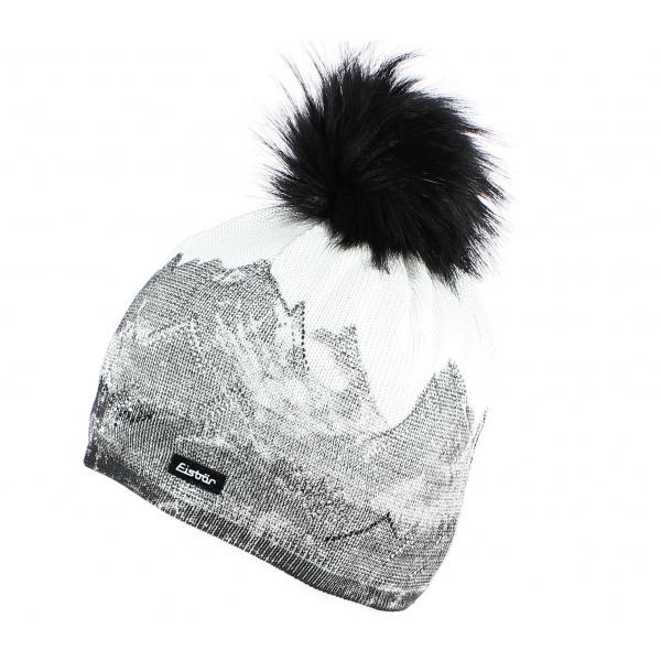 Bonnet à pompon Draw Lux - Eisbär