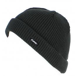 Short Cap Pat MÜ Wool Black - EISBÄR