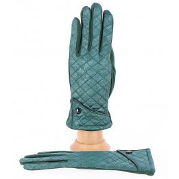 Gants Jacqueline Tactiles Femme vert - Traclet