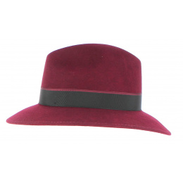 Chapeau en Feutre Laine Noir- Fléchet