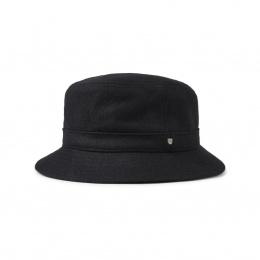 Chapeau Bob BURROUGHS Bucket Noir- Brixton