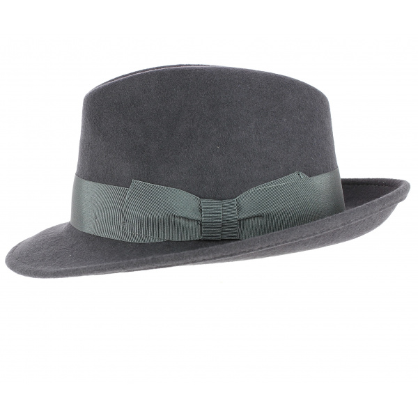 03c46bed5037b Hat Blues Brothers wide edge impermeable par Traclet