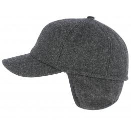 Meilleurs Hommes Hiver Chaud Casquettes de base-ball laine tweed visière Chapeaux Avec Rabats Oreilles Cadeau